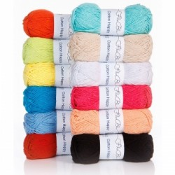 Cotton Happy 50g oranž 09