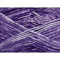Jeans White Purple 42569