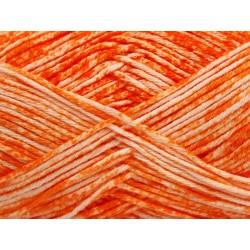 Jeans White Orange 42561