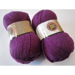 Pure Wool 60 lilla