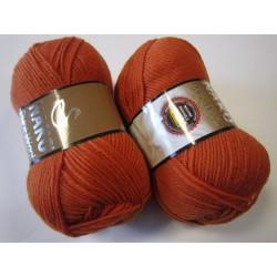 Pure Wool 6963 terrakota
