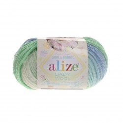 Baby Wool Batik Värv 4389...