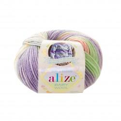 Baby Wool Batik 7258...