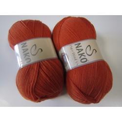 Pure Wool 3,5 6963 oranž