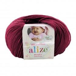 Baby Wool 390 (Tume fuksia)