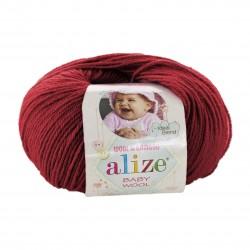 Baby Wool 106 (Tumedam punane)