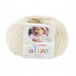 Baby Wool 01 (kreemvalge)