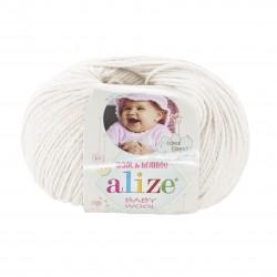 Baby Wool 62 (Kreemjasvalge)