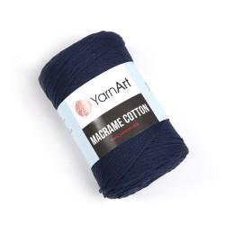 Macrame Cotton 784 tumesinine