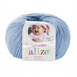 Baby Wool 350 helesinine